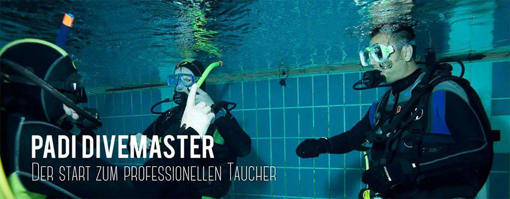 Tauschule Scubamarine: PADI Divemaster Kurse