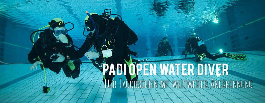 Tauschule Scubamarine: PADI OWD