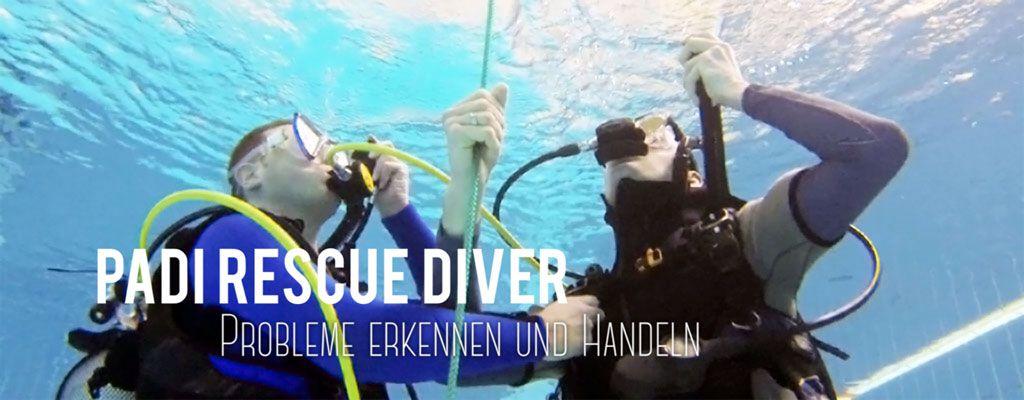 Tauschule Scubamarine: PADI Rescuediver