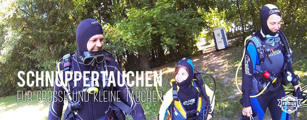 Tauschule Scubamarine: PADI Schnuppertauchen