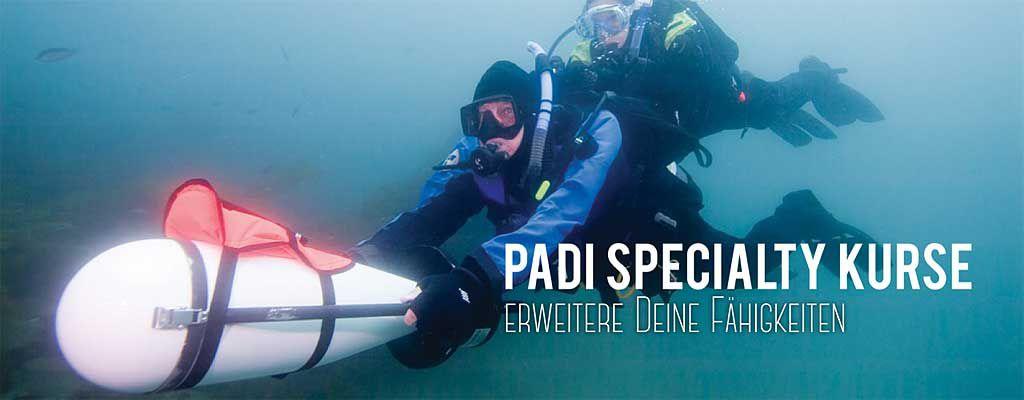 Tauschule Scubamarine: PADI Specialty Kurse