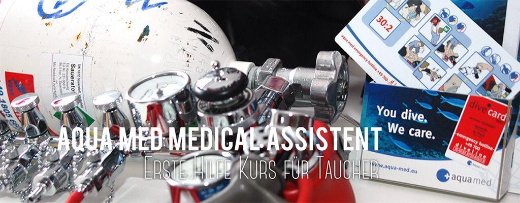 Tauschule Scubamarine: Aquamed Medical Assistent und Oxygen Provider Kurse