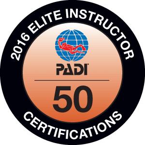 PADI Elite Instructor Certification